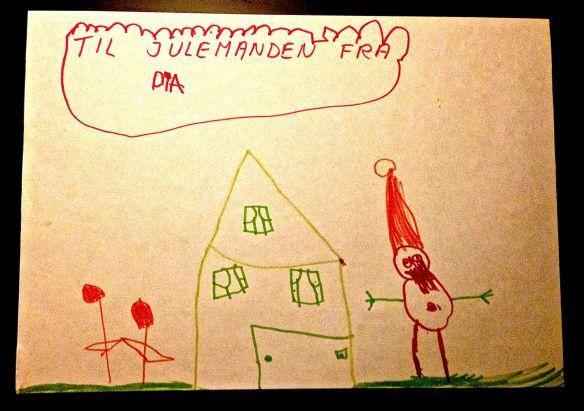 Julemanden - nu med navle og blodtud